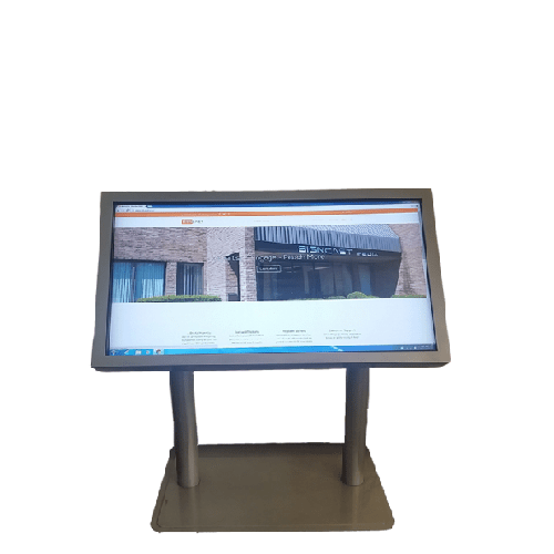 47 Multi-Touch LCD Touch Screen with Custom Kiosk