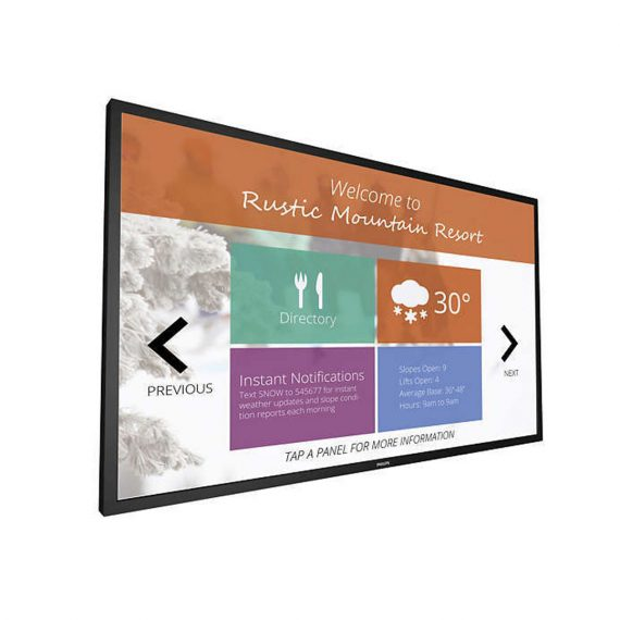 75 Multi-Touch Display