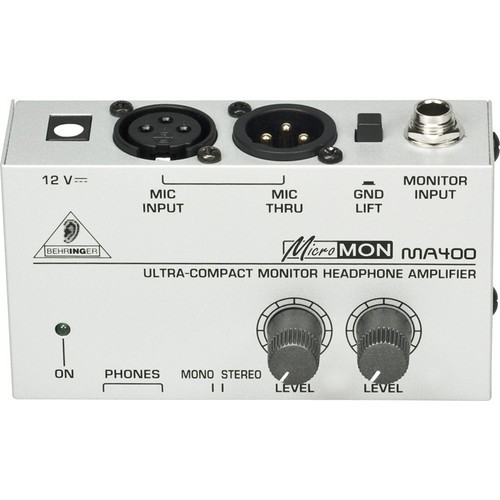 Ultra Compact Monitor Headphone Amplifier